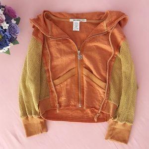 💐MURMUR cropped rustic-boho jacket